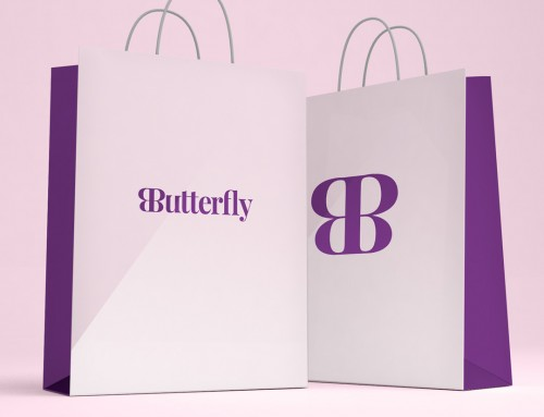 Health Logo Design | Butterfly