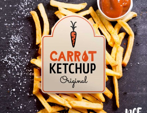 Food Logo Design | New Country Fresh | Carrot Ketchup