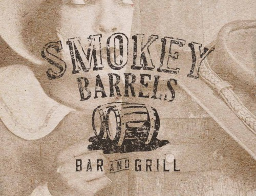 Smoke House Logo Design | Smokey Barrels